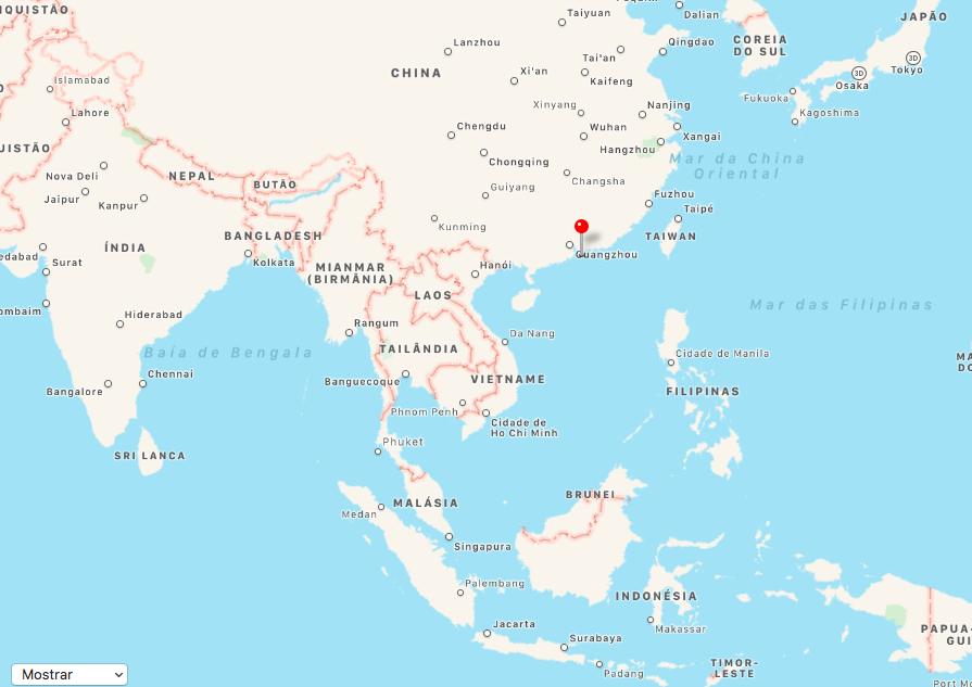 Hong Kong, onde fica