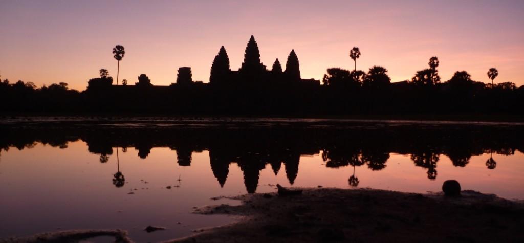Angkor Wat Nascer do Sol