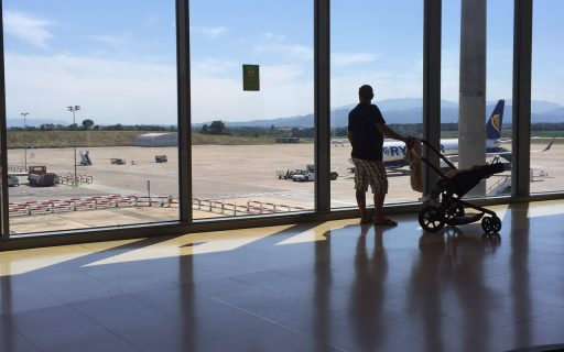 Como pegar um avião com Carrinho de Bebê?