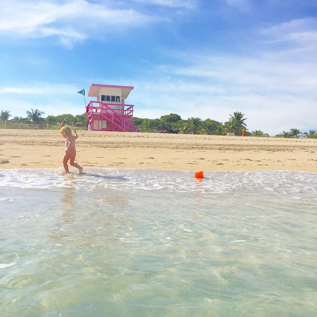 Praia de Surfside Miami Beach