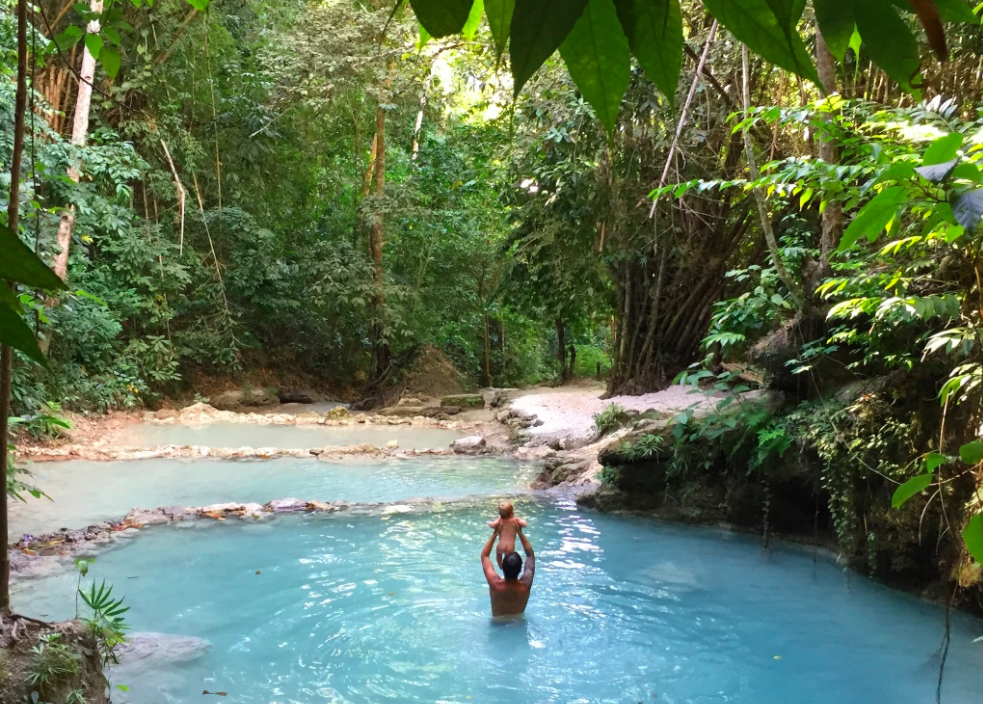 Cebu Oslob cachoeira Filipinas