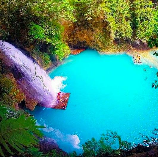 Kawasan Falls Cebu Oslob Filipinas