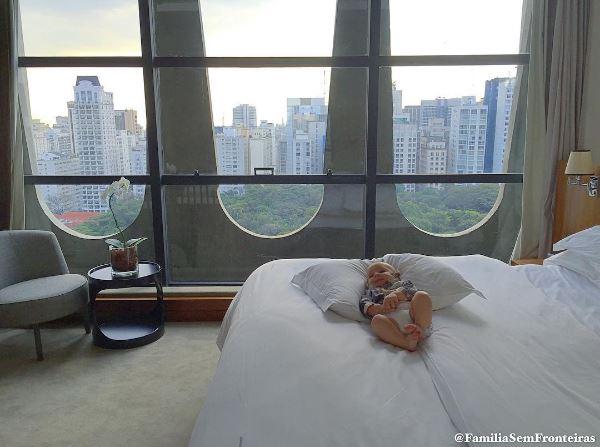Hotel Tivoli - onde dormir em Sao paulo