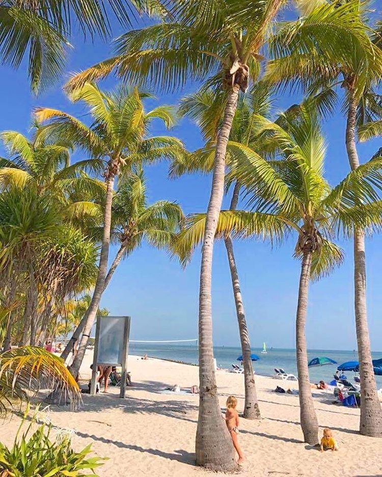 Smathers beach Key West Florida