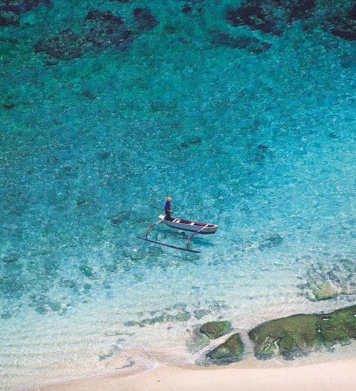 Bali praia