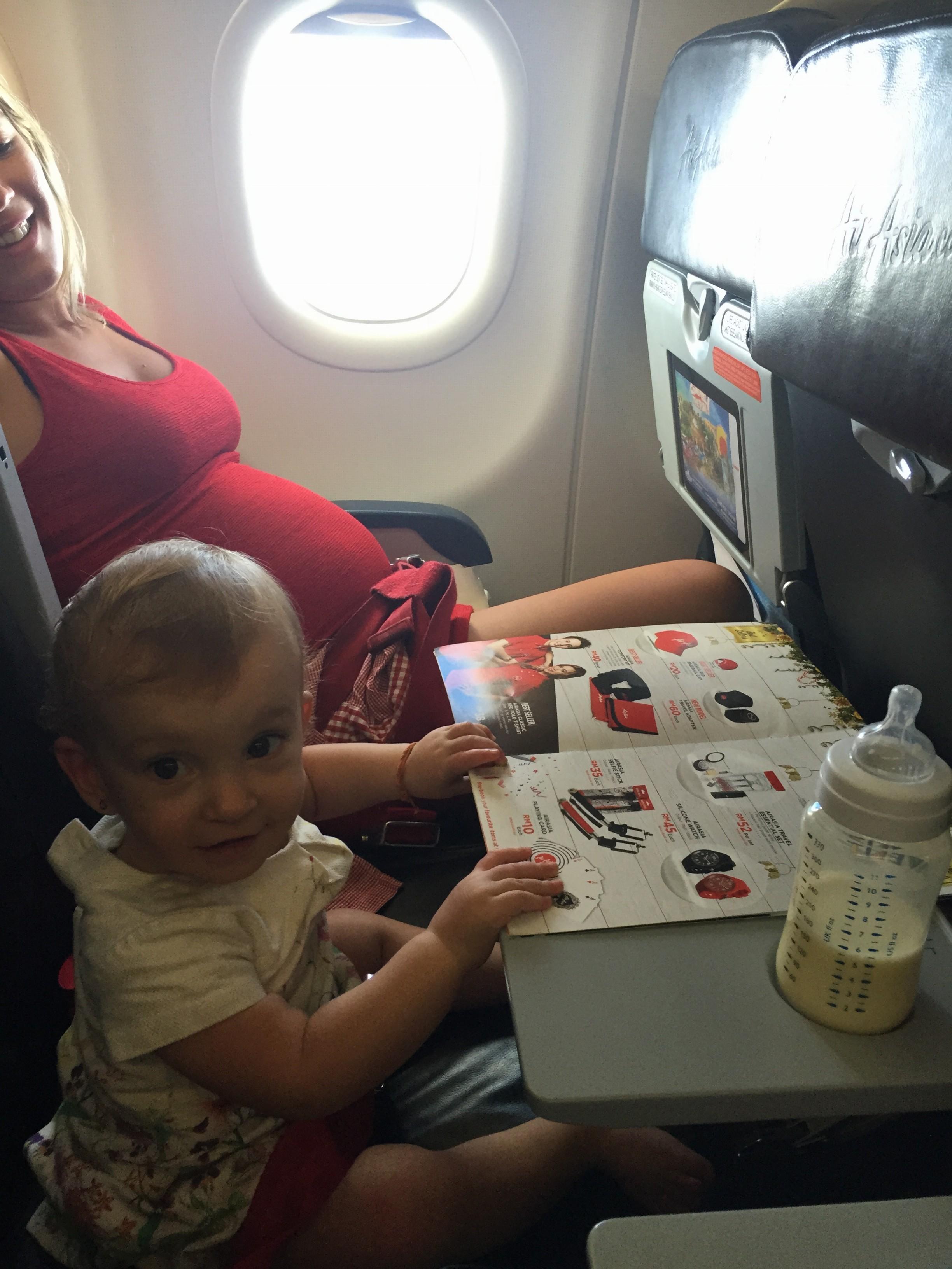 Viajar de aviao gravida - Voyager en avion enceinte