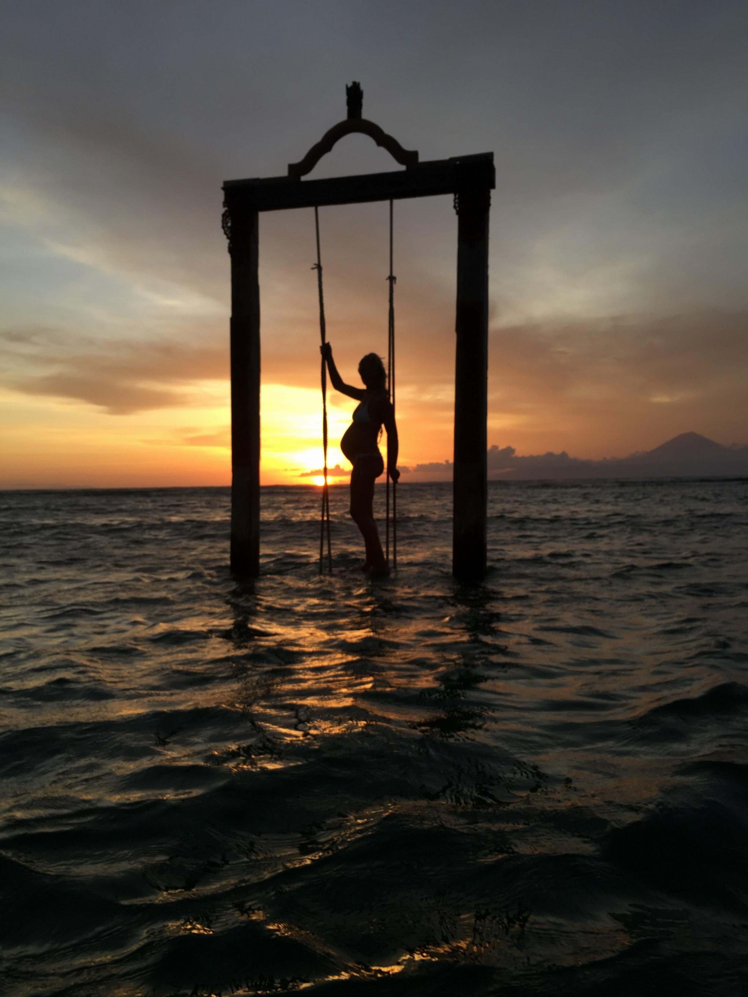 Por do sol Gili Bali Lombok