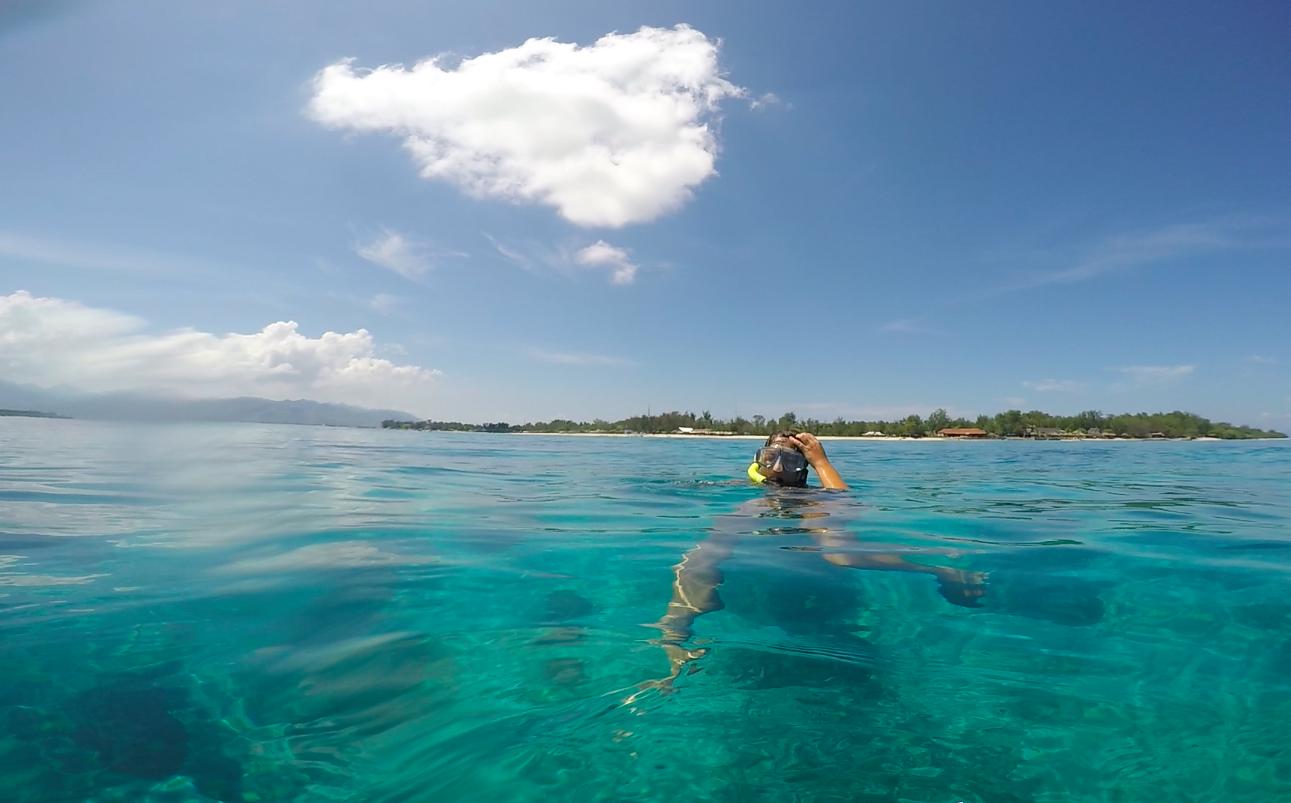 Gili mergulho Bali Lombok