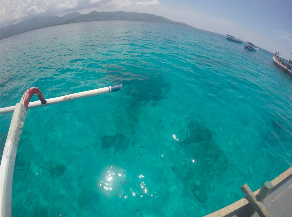 Boat Gil island Bali Lombok