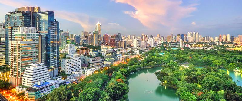 Lumphini Park Bangkok Tailandia