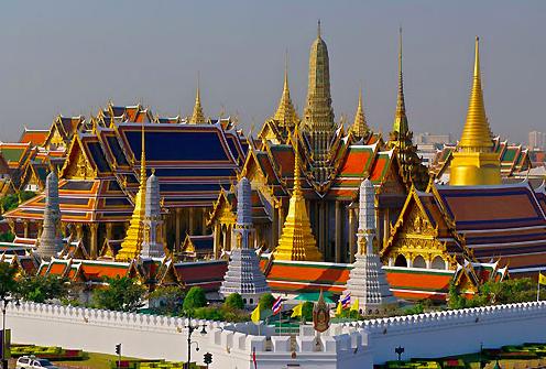 Grand palace Bangkok Tailandia