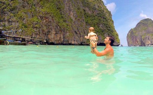 Maya Bay, a praia mais famosa das ilhas Phi Phi