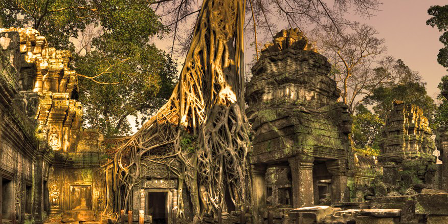 Ta pronhm temple Siem Reap