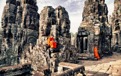 Siem Reap, Cidade base dos templos de Angkor