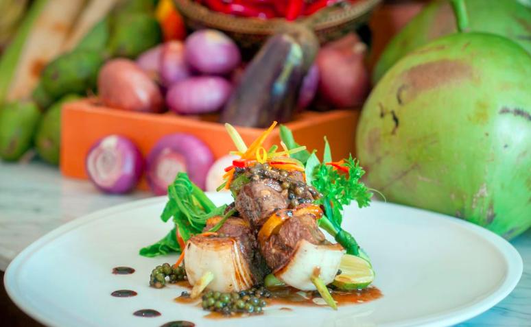Damnak Lounge Restaurar Siem Reap