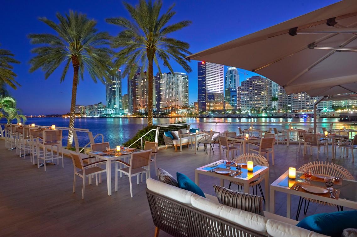 Zuma japonese restaurant Miami