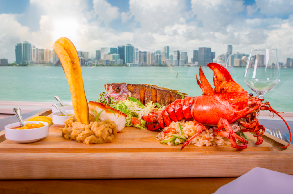 The Rusty Pelican Miami. onde comer miami