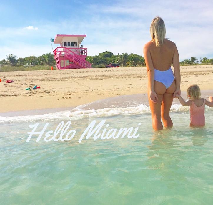 Miami SouthBeach praia