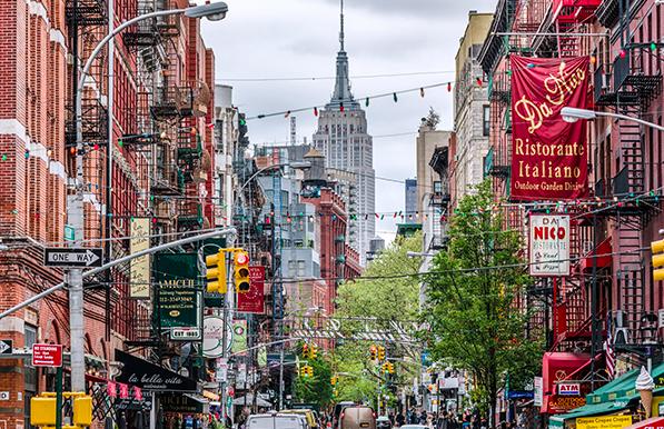 Little Italy Nyc - melhor bairro para se hospedar em New York