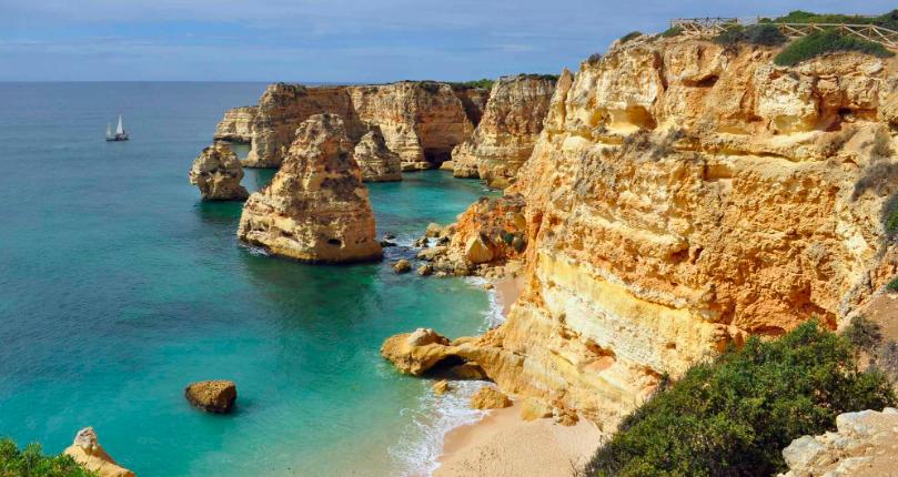 praia algarve - melhores praias europa - melhores destinos praia europa