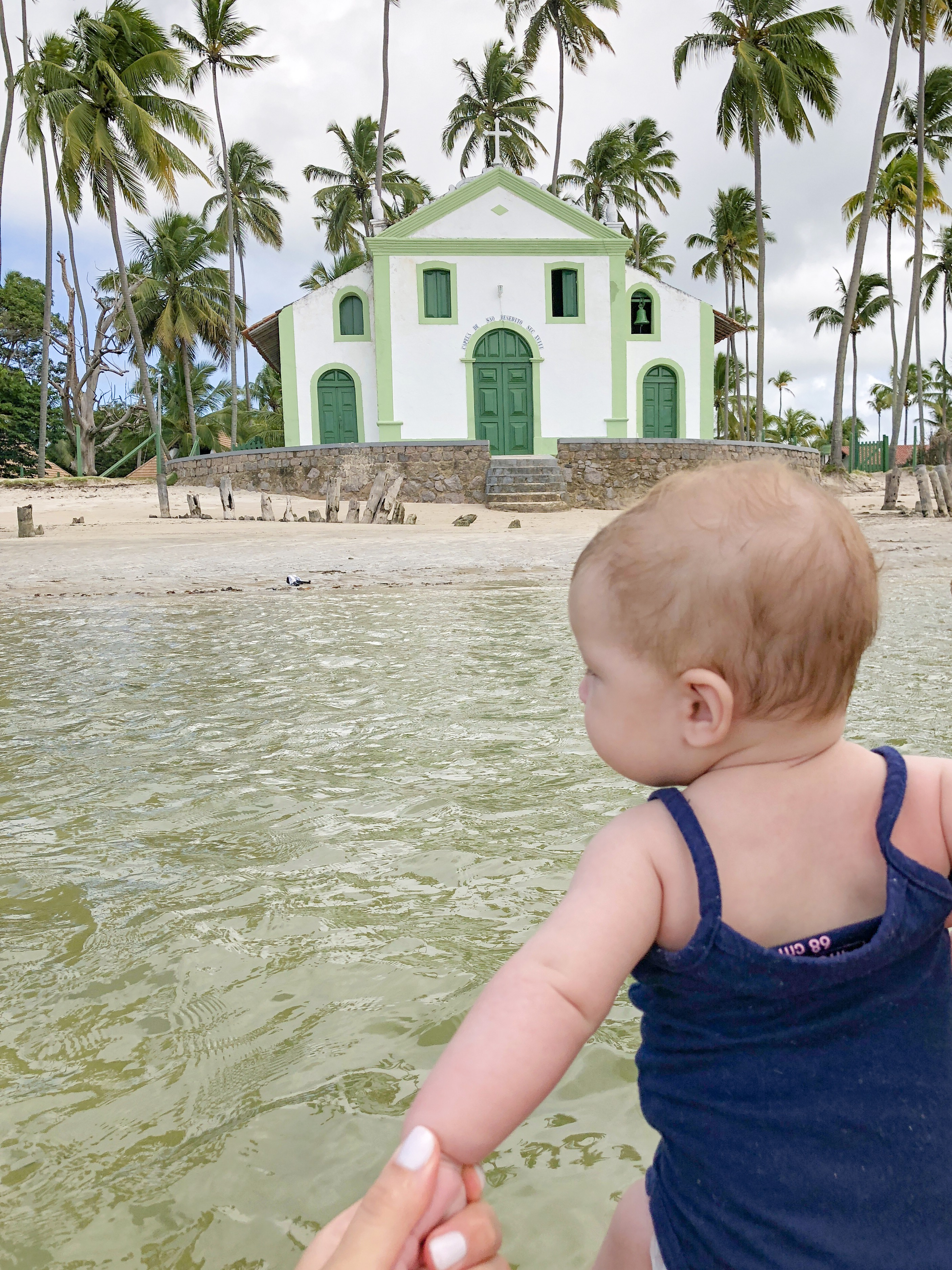 igreja São Benedito praia dos carneiros
