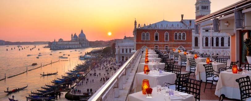 hotel romântico em Veneza