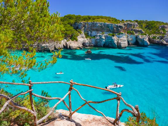 Passeio de barco em Menorca