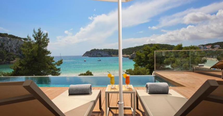 Melhores hoteis ilhas baleares Hotel Melia Cala Galdana