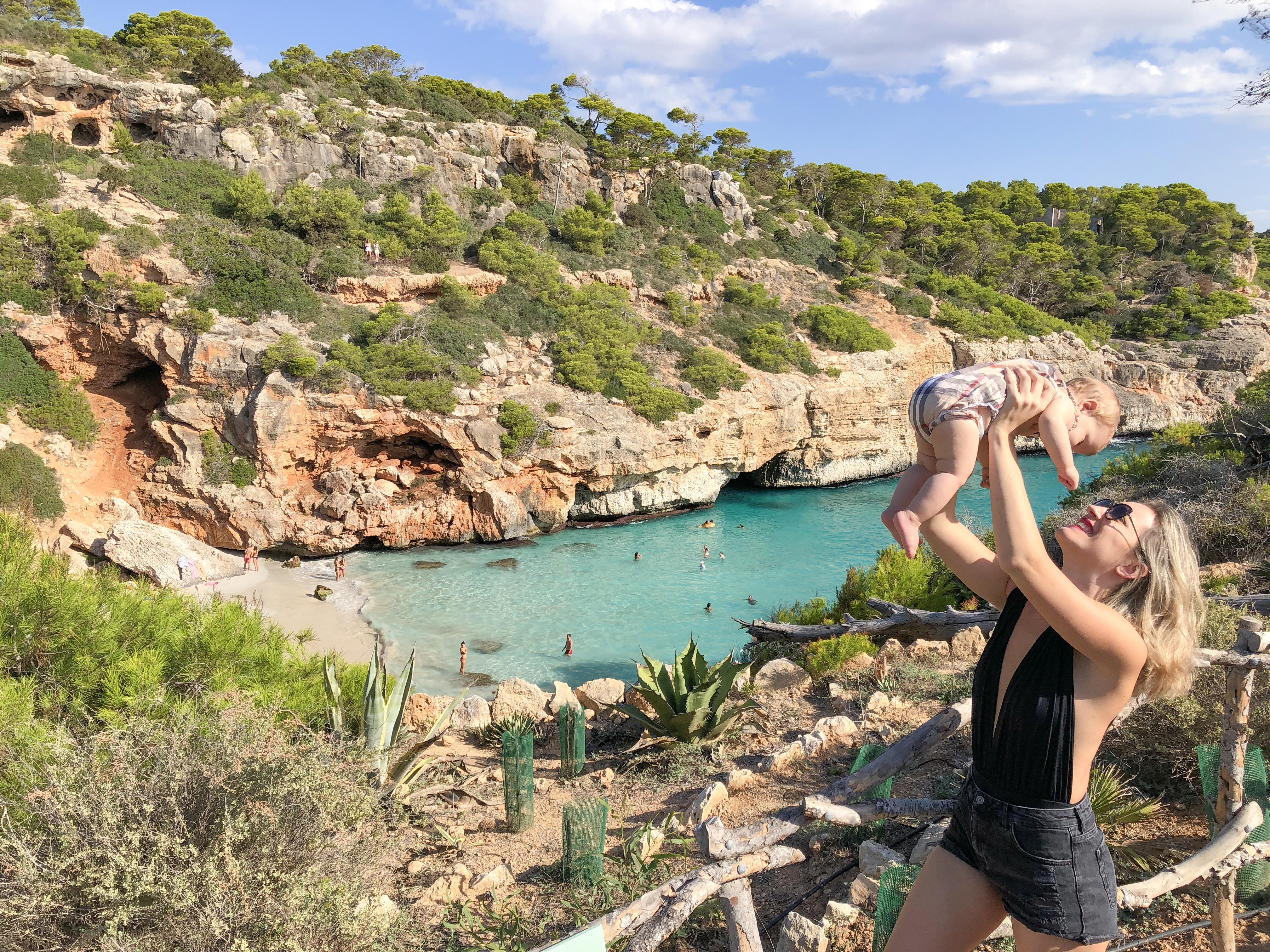 trilha praia Maiorca - melhores praias ilhas baleares