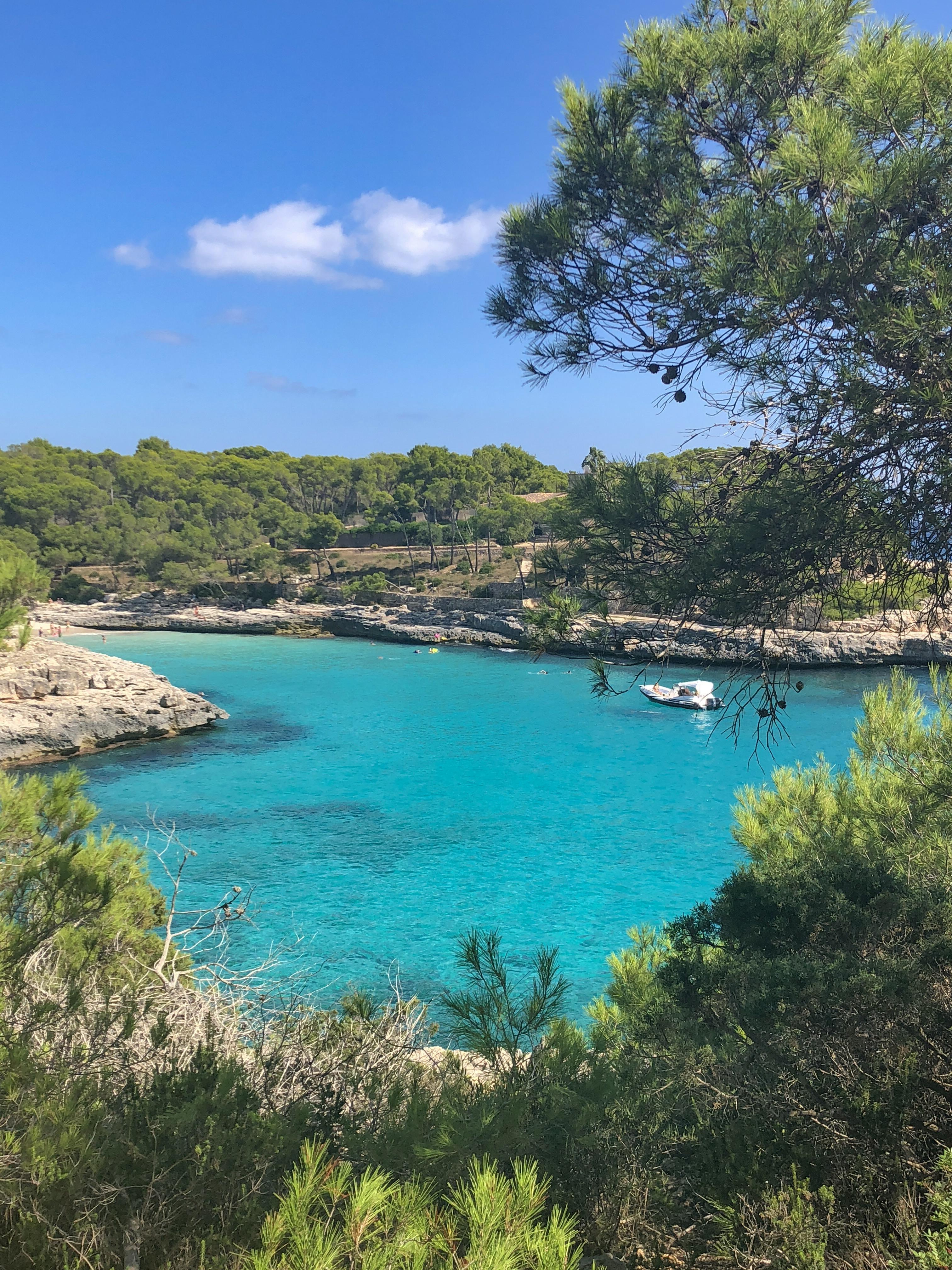 Melhores praias mais lindas nas ilhas baleares -cala figueira