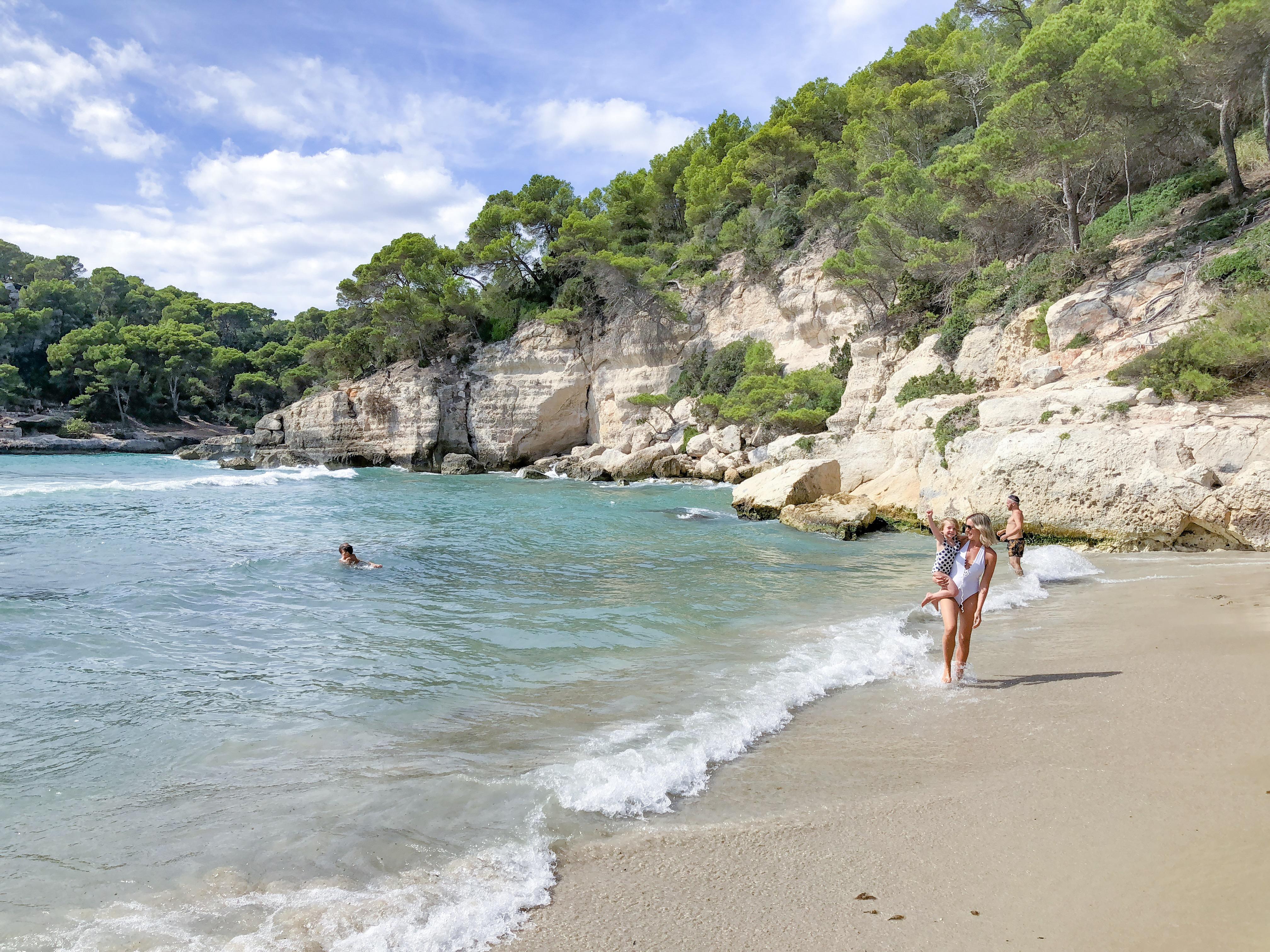 Melhores praias nas ilhas baleares - cala Mitjana
