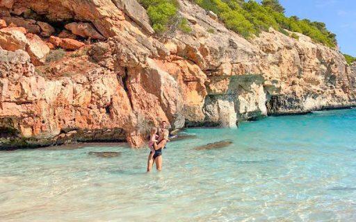 Melhores e mais lindas praias de Maiorca e Menorca nas ilhas Baleares, Espanha