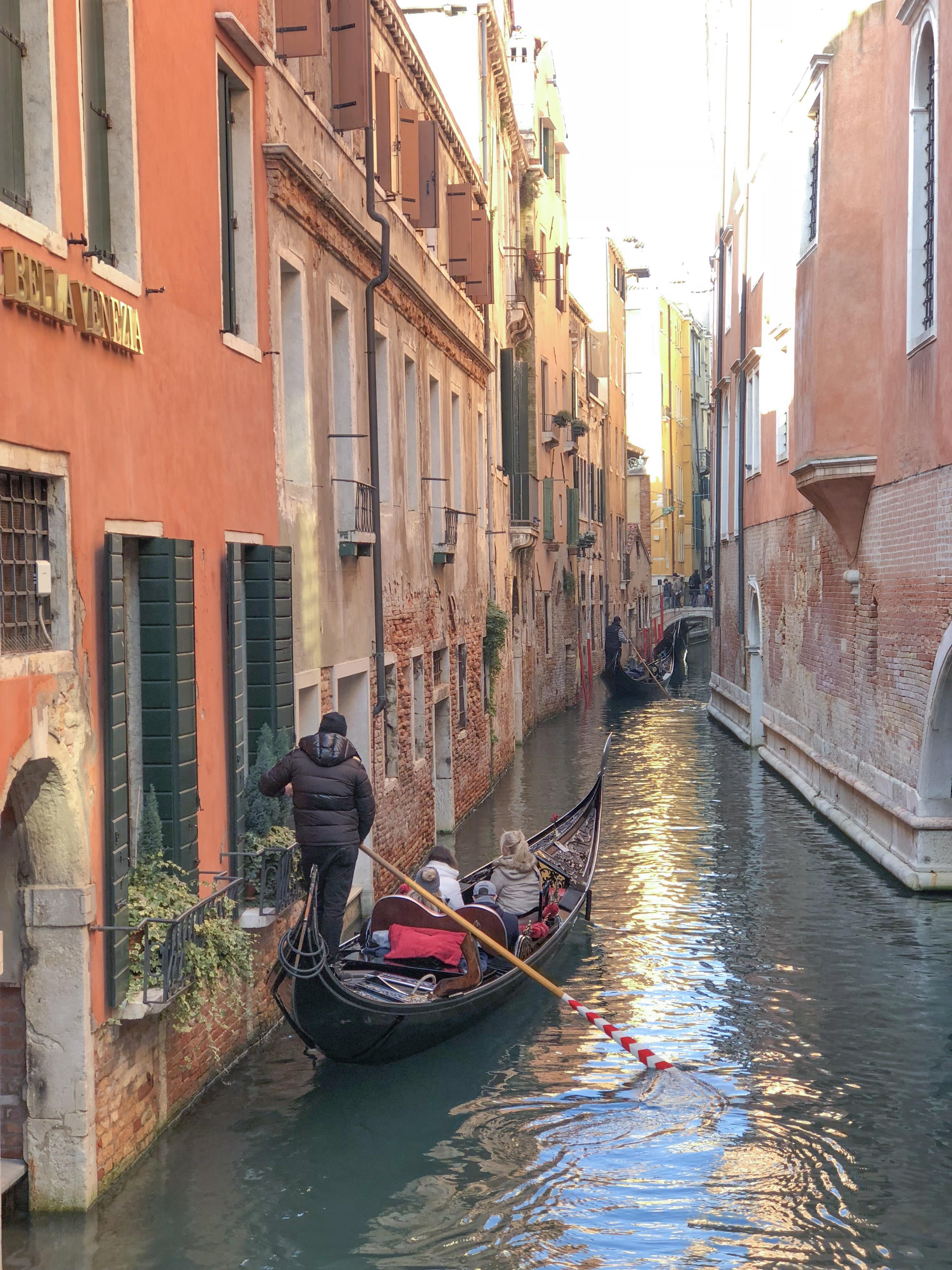 Guia de veneza - passeio de gondola em Veneza