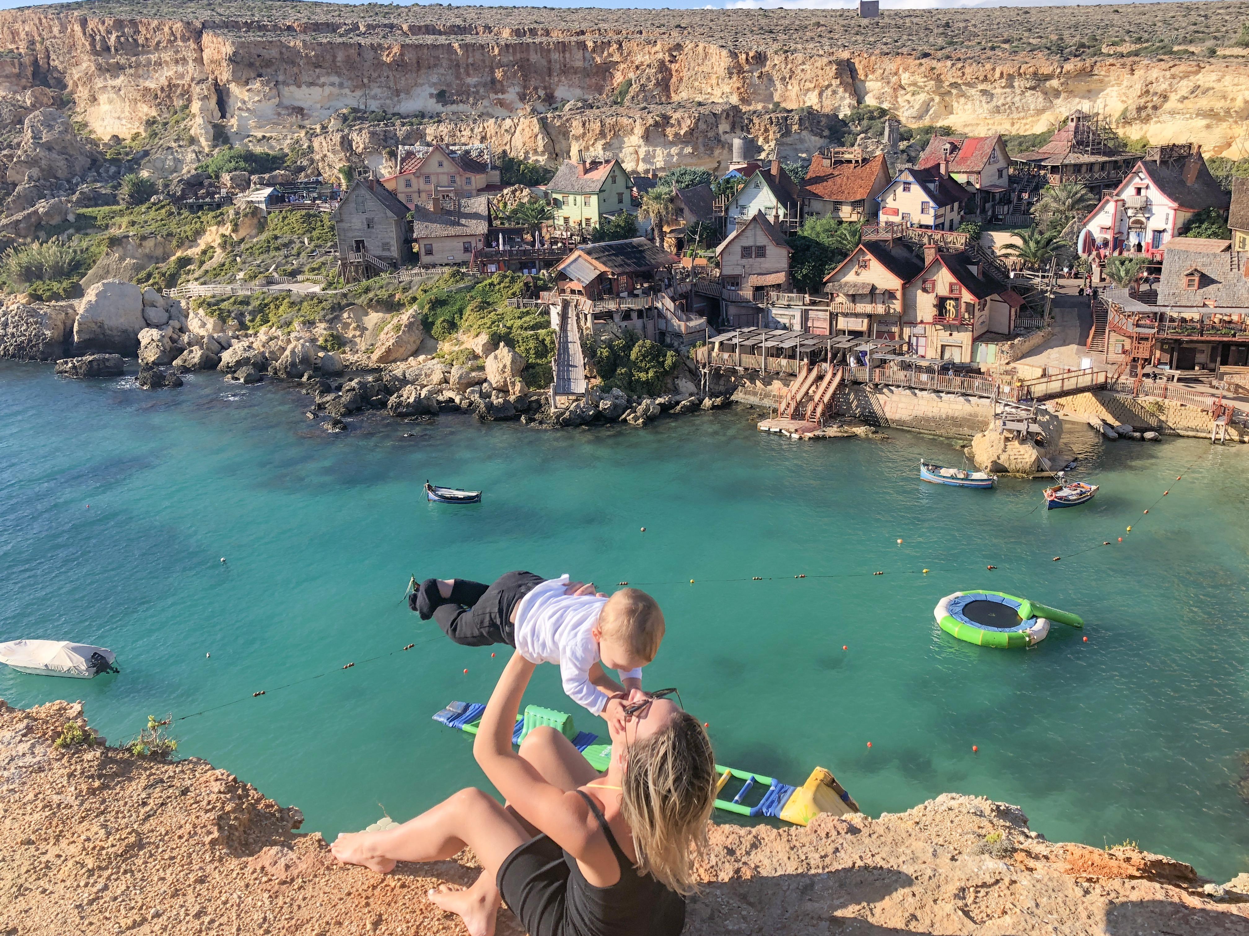 Popeye Village em Malta - o que fazer em Malta