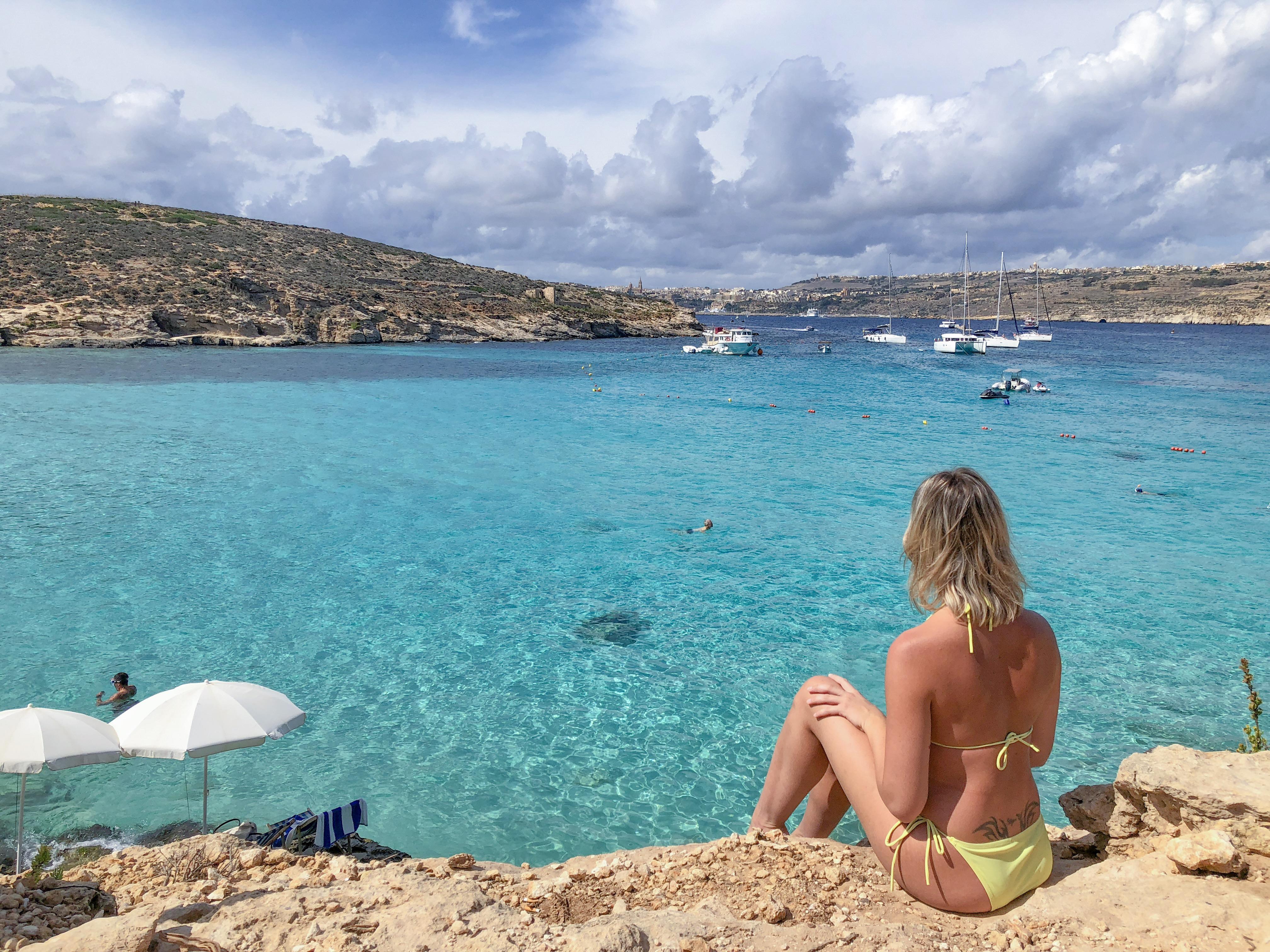 Como ir na blue lagoon de Malta - o que fazer em Malta
