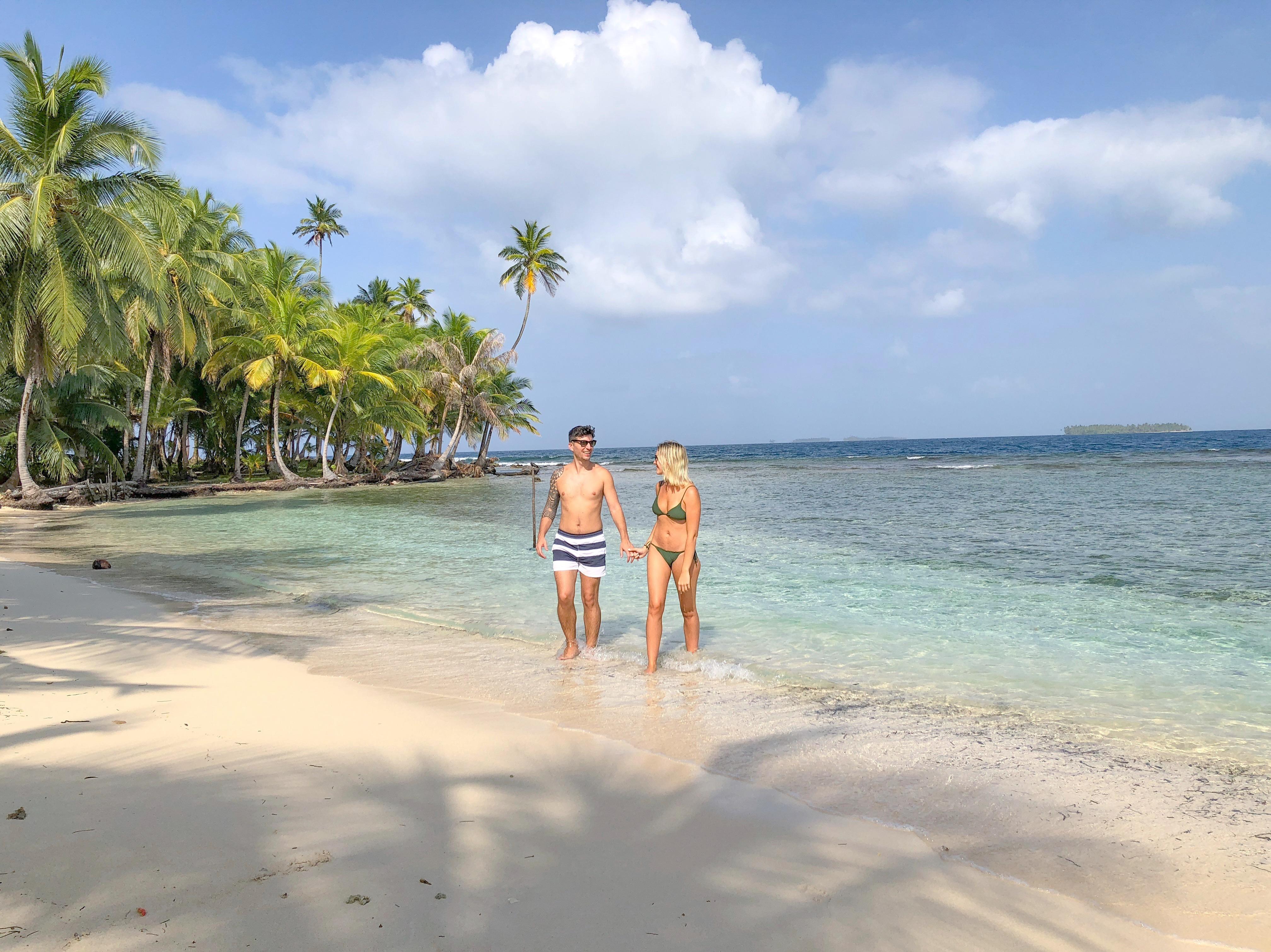 ir nas ilhas san Blas