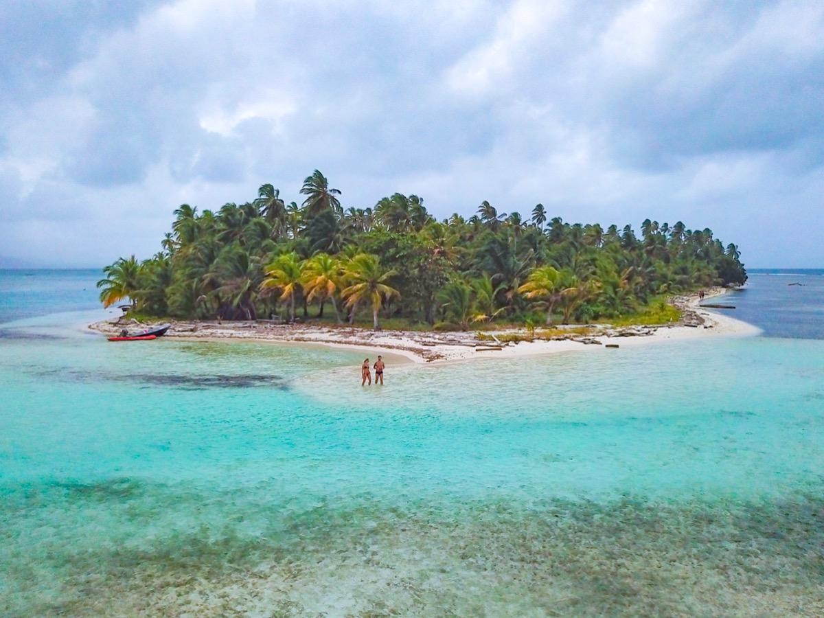 coco bandero , melhores praias das ilhas san blas