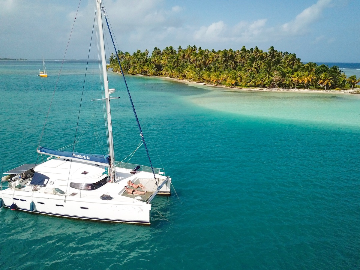 navegar - alugar catamaran nas ilhas San Blas