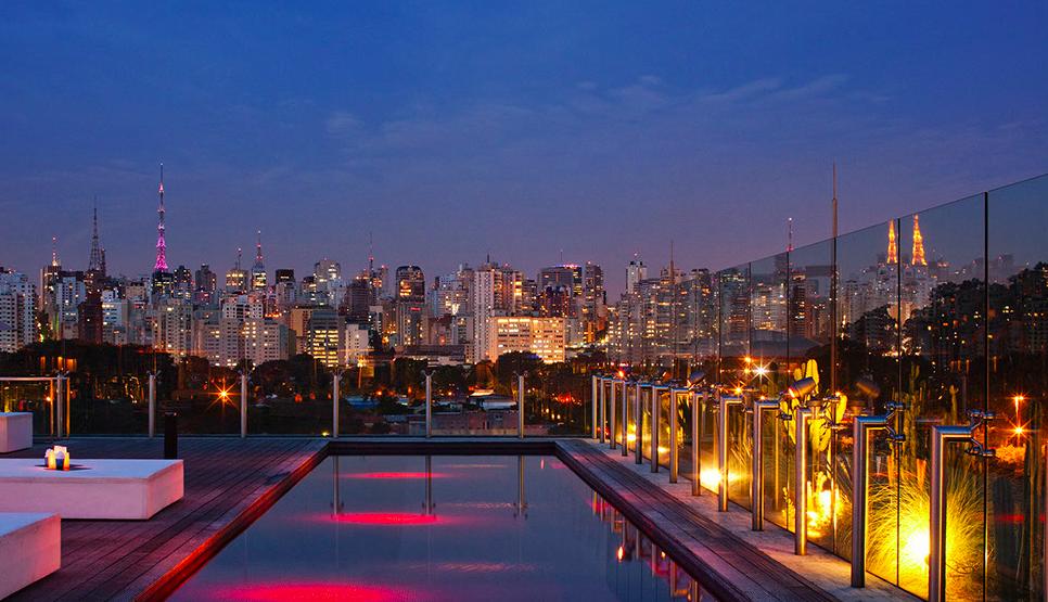 Hotel unique Sao Paulo - onde dormir em Sao Paulo