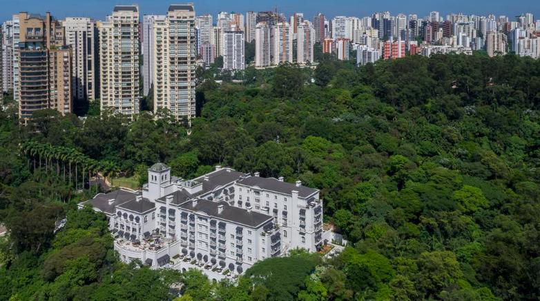 Palacio Tangara - onde dormir em Sao Paulo
