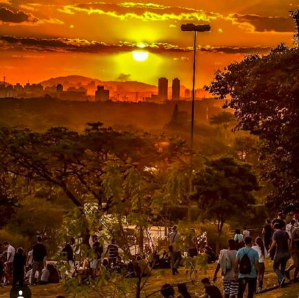 Praça do por do sol , o que fazer em Sao Paulo