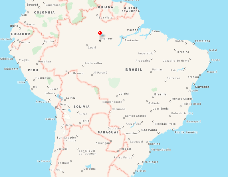 Onde fica a Amazonia , Manaus