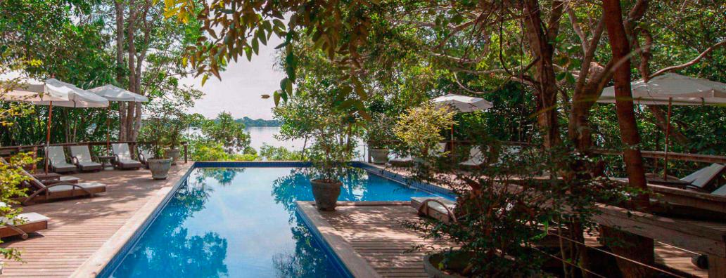 Hotel anavilhanas , hotel na selva , hotel Amazonia , Hotel amazonie