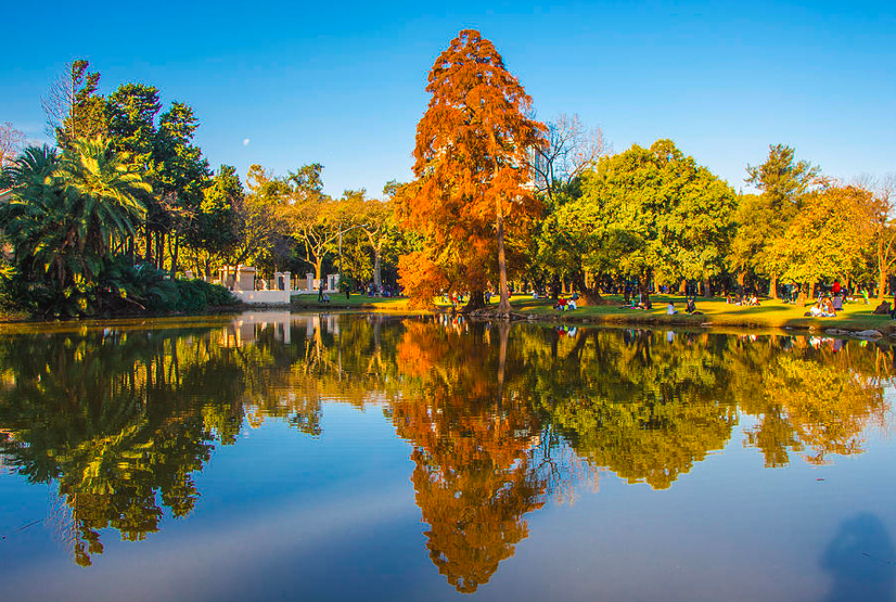 Parque 3 de febrero , bosques de Palermo , parque Buenos Aires