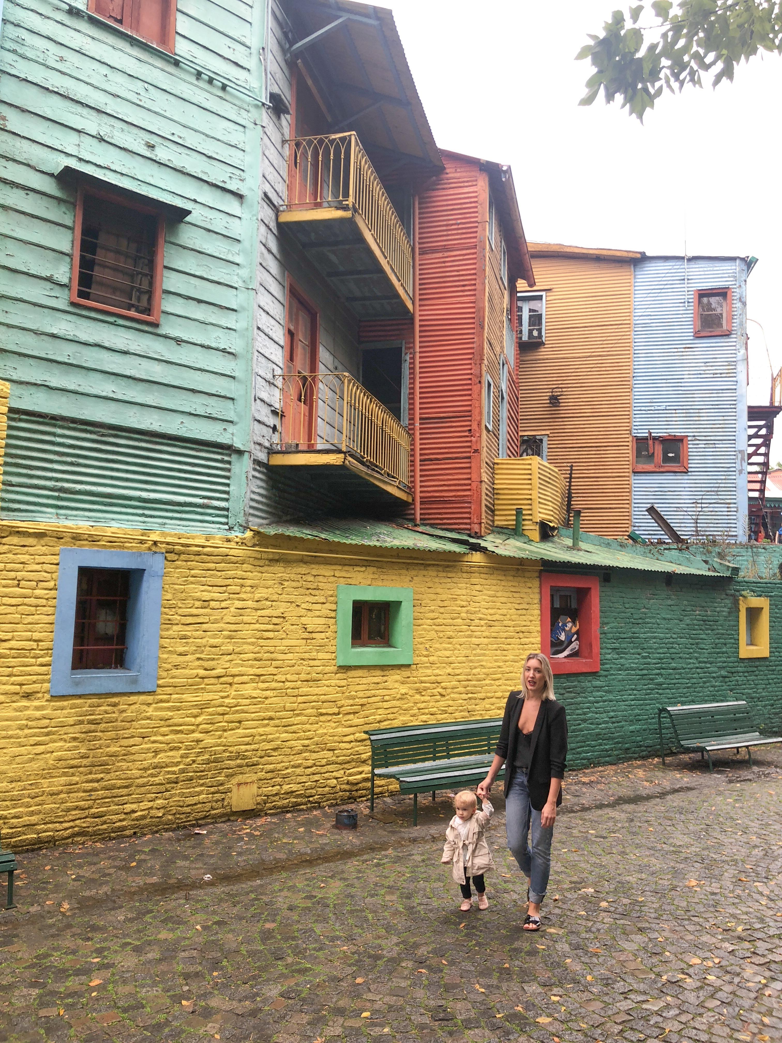 Bairro el Caminito Buenos Aires , La boca Buenos Aires , o que fazer em Buenos Aires