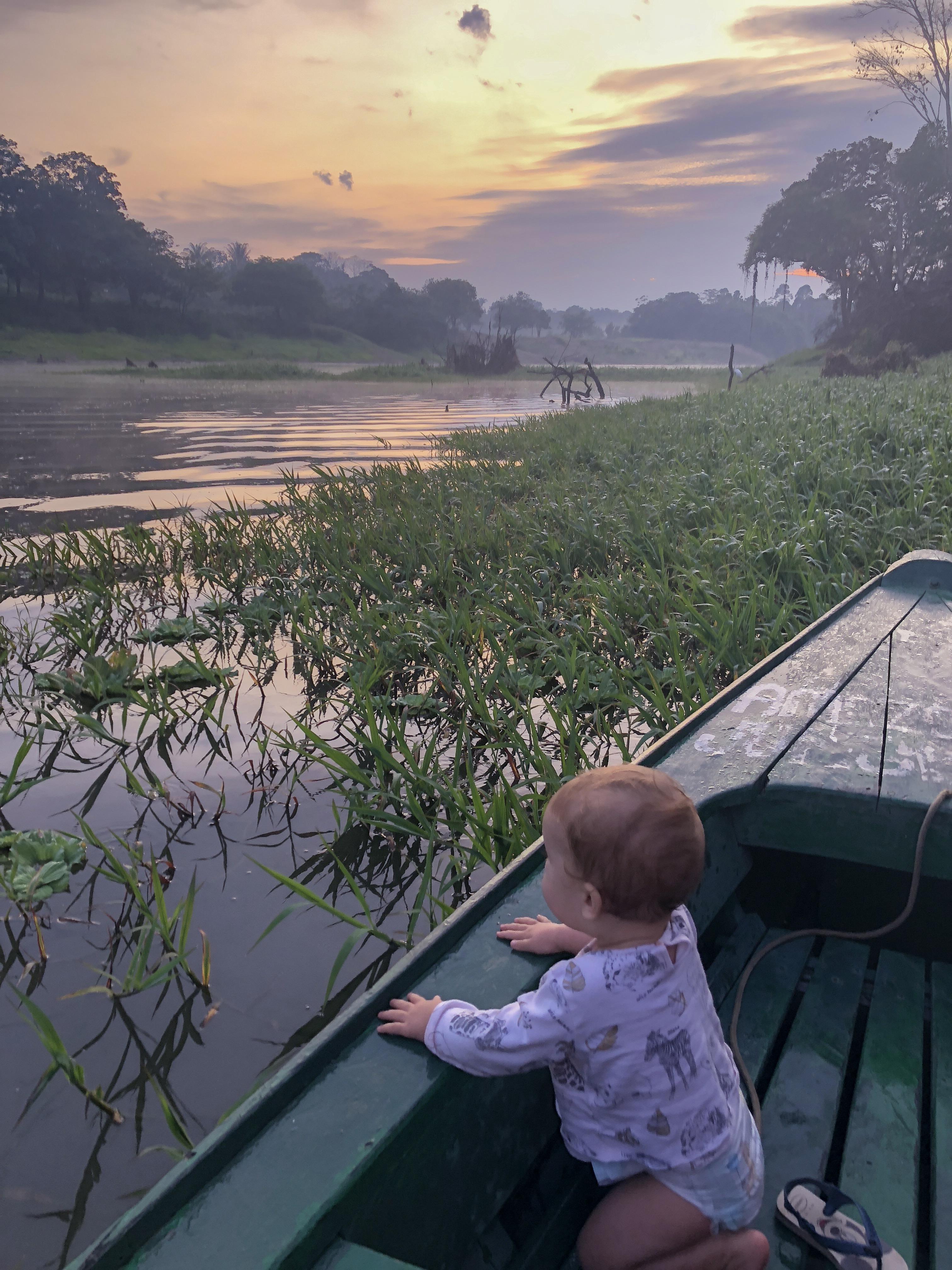 Amazonia , floresta amazónica , Amazonie , viajar com criança