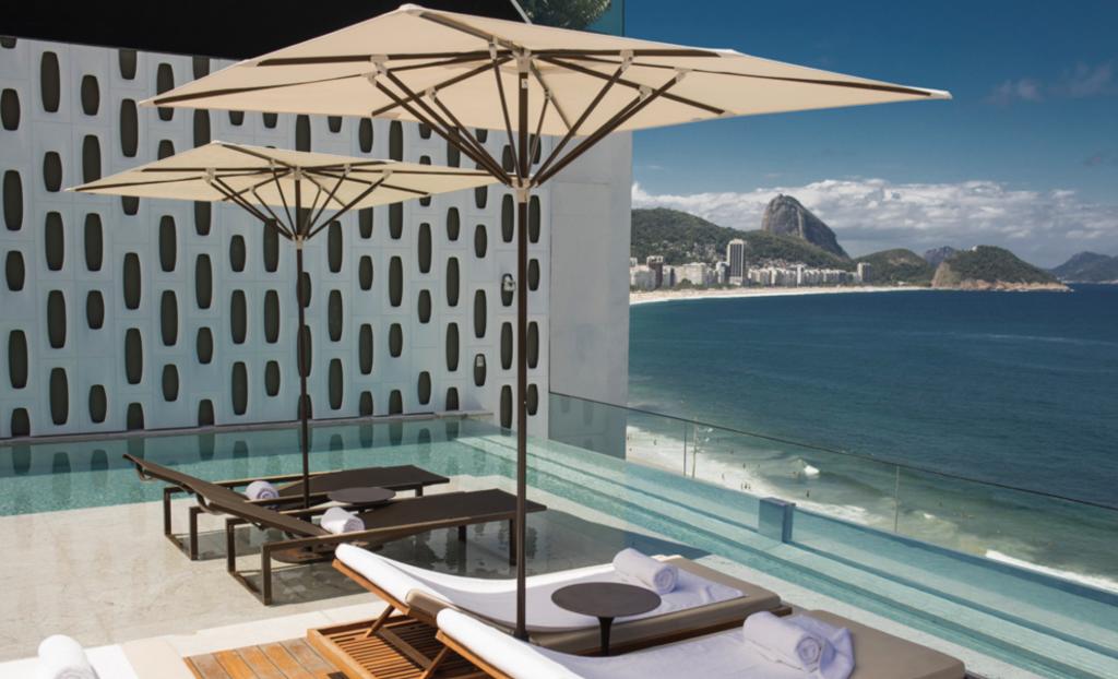 hotel com vista Rio de Janeiro