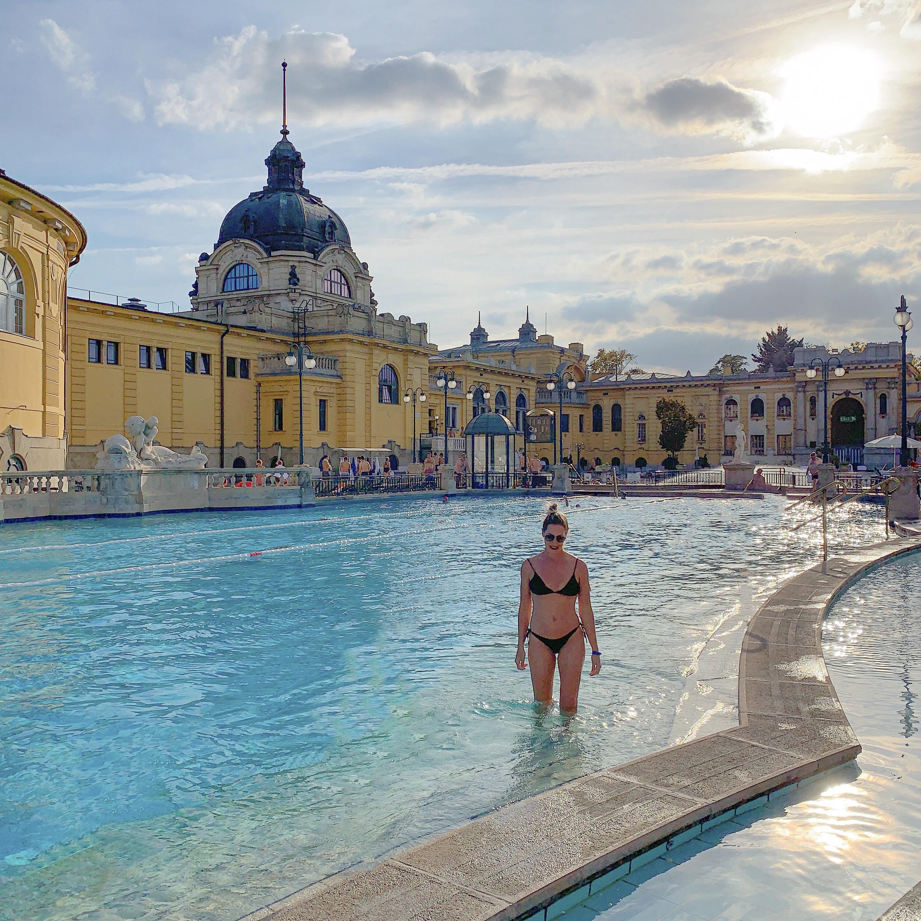 banhos termais de Budapeste - thermal bath Budapest - Széchenyi