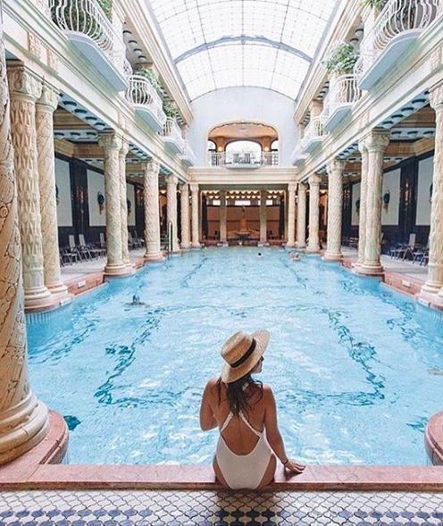 banhos termais Dellert , Budapeste , thermal bath Dellert