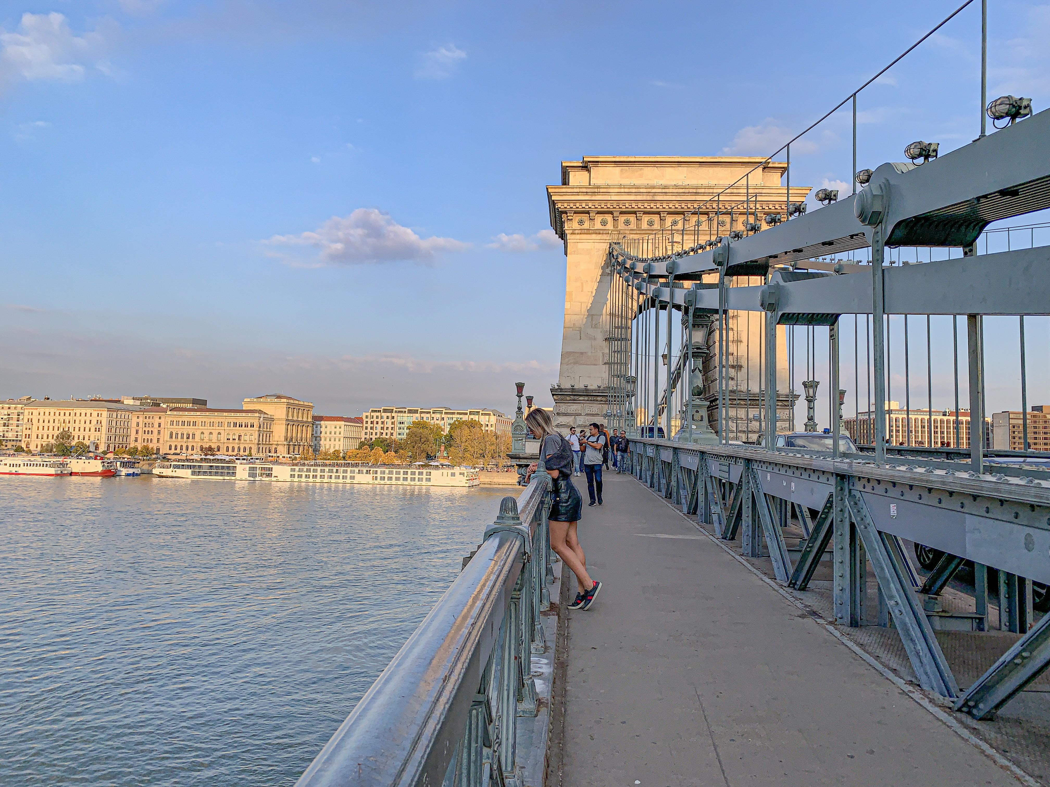 Ponte das correntes Budapeste , chainbridge Budapest